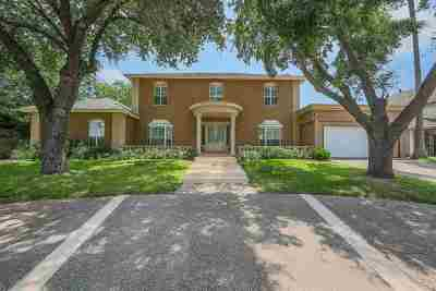 Laredo Single Family Home For Sale: 315 Linden Ln