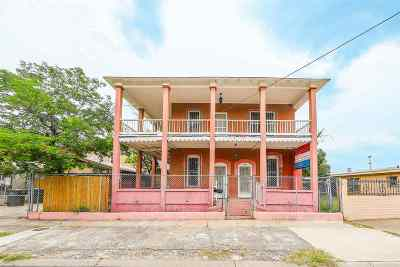 Single Family Home For Sale: 1517 Garcia St