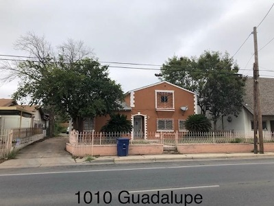 Laredo Single Family Home For Sale: 1010 Guadalupe St