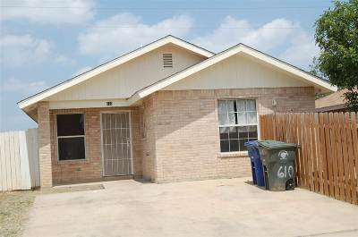 Laredo Single Family Home For Sale: 610 Gage Lp
