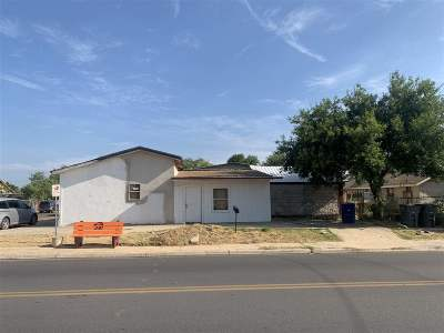 Single Family Home For Sale: 1319 E Bustamante St