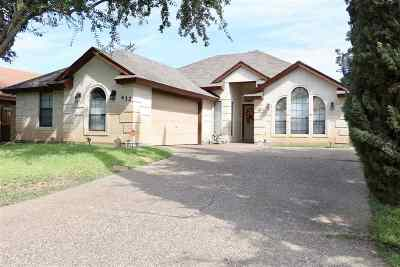 Laredo Single Family Home For Sale: 432 St Croix Dr
