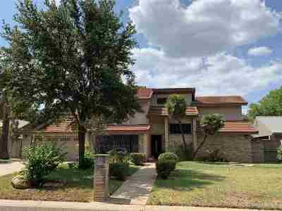 Laredo Single Family Home For Sale: 412 Nye Dr