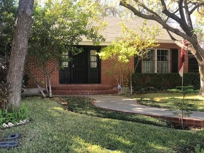 Laredo Single Family Home For Sale: 1719 Okane St
