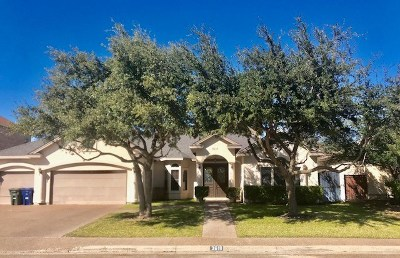 Laredo Single Family Home For Sale: 3618 Josefina Dr