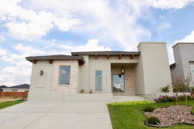 Laredo Single Family Home Active-Exclusive Agency: 1607 Cozumel Dr
