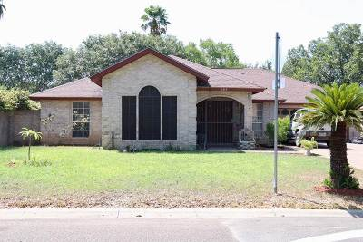 Laredo Single Family Home For Sale: 1319 Kimberly Dr