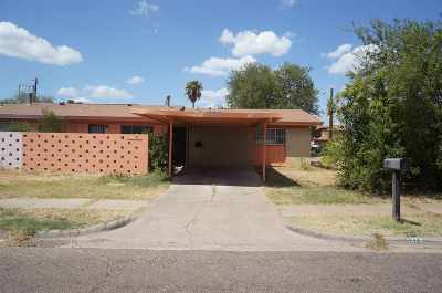Laredo TX Single Family Home For Sale: $97,500