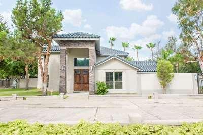 Laredo TX Single Family Home For Sale: $598,000