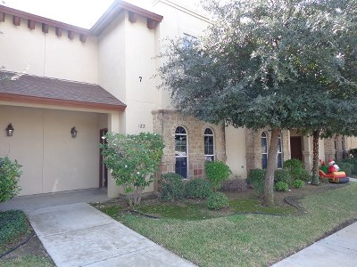 Laredo Condo/Townhouse For Sale: 10706 International Blvd #122