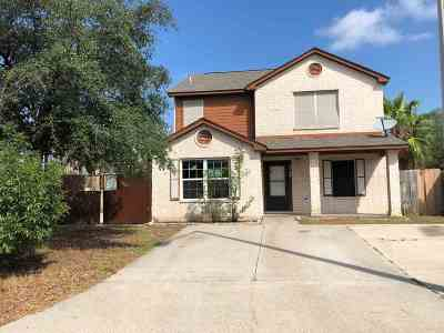 Laredo TX Single Family Home Active-Exclusive Agency: $164,300