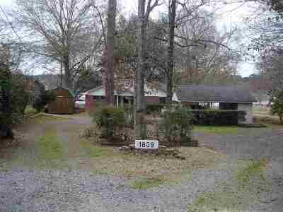 Gladewater Single Family Home For Sale: 1809 E Lake Dr