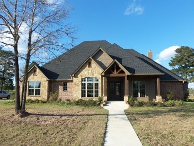 Kilgore Single Family Home Active, Option Period: 110 County Road 1133