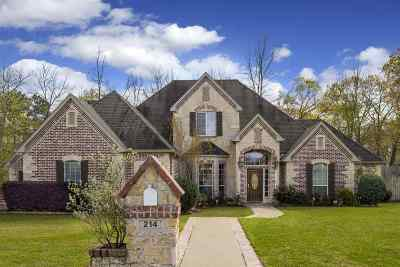 White Oak Single Family Home For Sale: 214 Travis Peak Trail