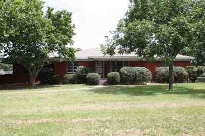Gilmer Single Family Home For Sale: 10727 Fm 1650