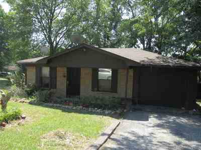 Gladewater TX Single Family Home For Sale: $90,000