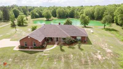Hallsville Single Family Home For Sale: 9025 Fm 450 N