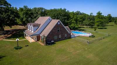 Single Family Home For Sale: 4821 Gilmer Road