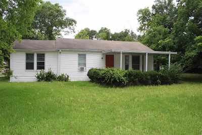 Gladewater TX Single Family Home For Sale: $69,900