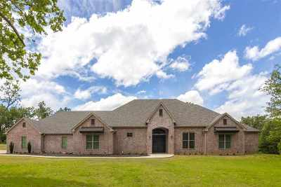 Gladewater TX Single Family Home For Sale: $595,000