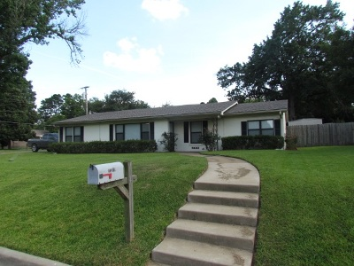 kilgore Single Family Home For Sale: 1210 Kathleen