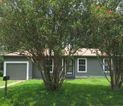 kilgore Single Family Home For Sale: 1407 Park Ln