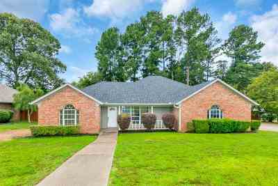 Hallsville Single Family Home For Sale: 619 Cal Young Rd