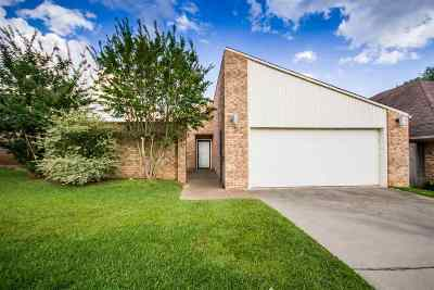 Longview TX Single Family Home For Sale: $143,800