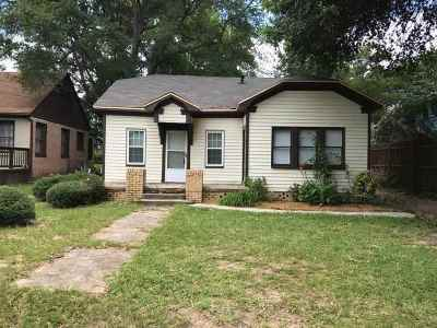 Longview TX Single Family Home For Sale: $49,900