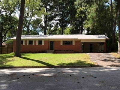 Longview Single Family Home For Sale: 1203 Tulane Ave