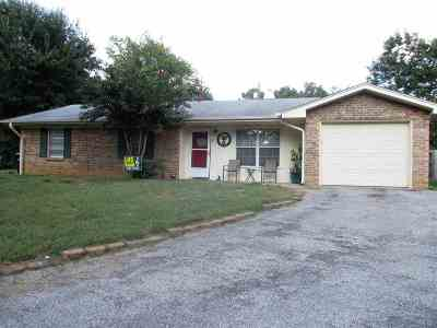 Longview TX Single Family Home For Sale: $121,900