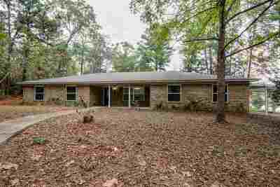 Kilgore Single Family Home For Sale: 7549 Fm 1249