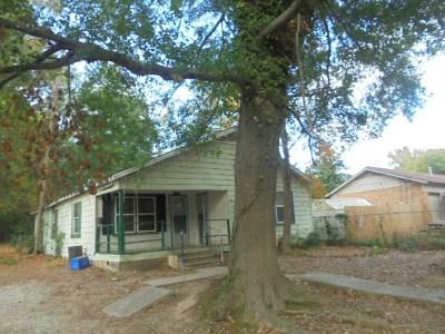 Longview TX Single Family Home For Sale: $15,000