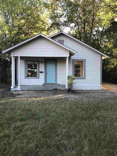 Longview TX Single Family Home For Sale: $55,000