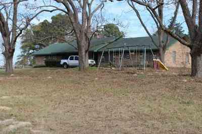 Gilmer Single Family Home Active, Option Period: 9676 Poinsettia Rd.