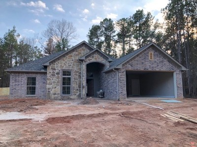 Hallsville Single Family Home Active, Option Period: 110 Decoy Ln
