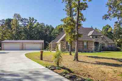 Longview Single Family Home For Sale: 4898 Fm 2208 S