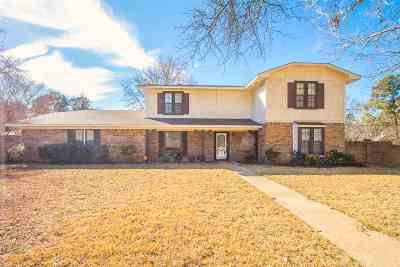 Kilgore Single Family Home Active, Option Period: 503 Timberdale