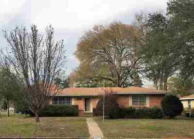 Longview TX Single Family Home For Sale: $134,900