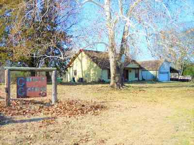 Gilmer Single Family Home Active, Option Period: 6607 Gorilla Rd.