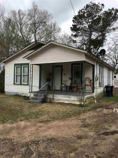 Longview TX Single Family Home For Sale: $22,000