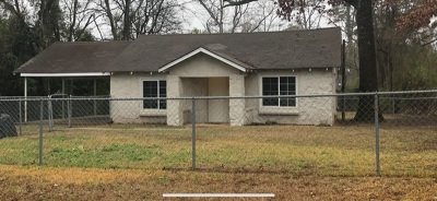 Longview TX Single Family Home For Sale: $69,500