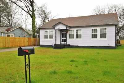 Longview TX Single Family Home For Sale: $58,000