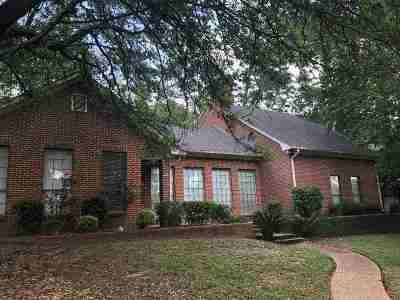 Longview Single Family Home For Sale: 1200 Ridgeview Ln