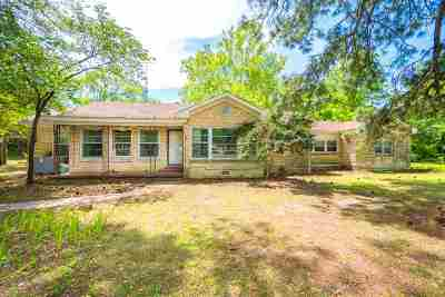 Gilmer Single Family Home For Sale: 1543 W State Hwy 154