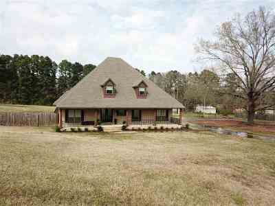 Hallsville Single Family Home For Sale: 11856 Highway 80