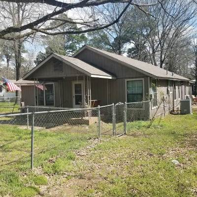 Gilmer Single Family Home For Sale: 318 Old Coffeeville