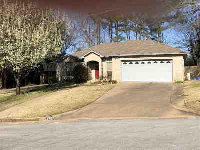 Longview TX Single Family Home Active, Cont Upon Loan Ap: $172,500