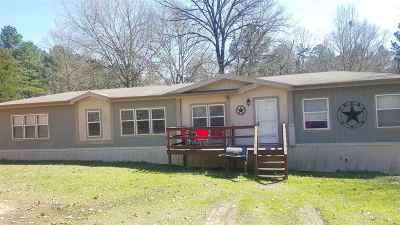 Gilmer Manufactured Home For Sale: 1601 Private Road 2112