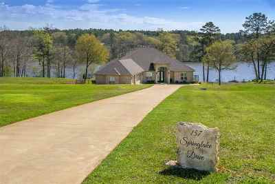 Gladewater Single Family Home Active, Option Period: 157 Springlake